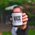 Magic Live Show Becher